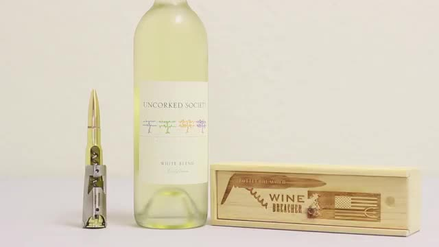 How to use your Wine Bottle Breacher - BlurbSurfer